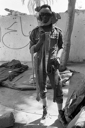José Nicolas - Combattant Gorane, Tchad - 1987