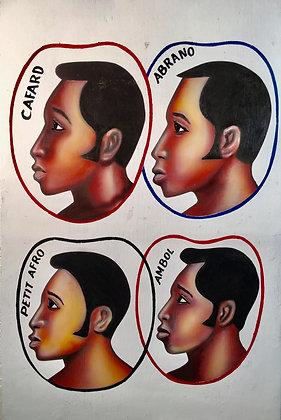 """""""Cafard-Abrano-Petit afro-Ambol"""" , Prisme Decor, Mali"""