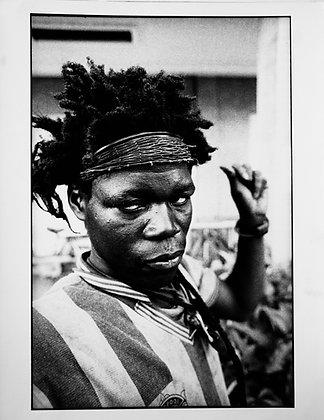 """Dorris Haron Kasco, sans titre, série """"Les fous d'Abidjan"""", 1993"""