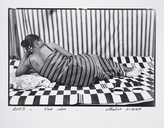 Malick Sidibé - Vue dos - 2003