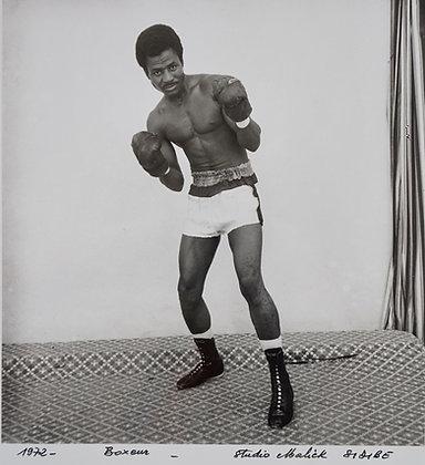Malick Sidibé -Boxeur (24X30) - 1972