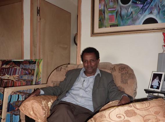 Tadesse chez Robel Berhane