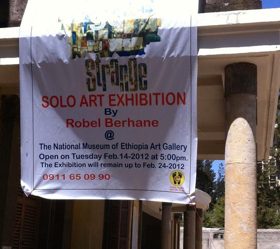 Solo Exhibition Robel Berhane