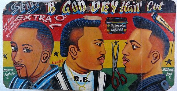 B GOD DEY Hair Cut