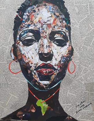 Sisay Teshome - African Girl - 2020