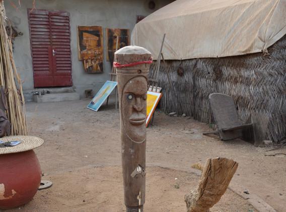 Sculpture de Thierno Diallo