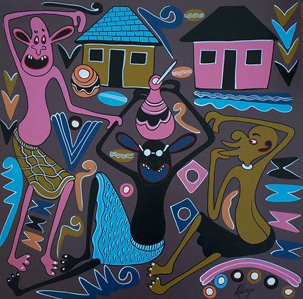 George Lilanga - Babu huachi kutembea na kibuyu cha pombe- 1999