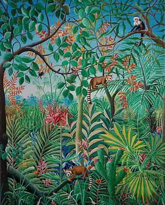 Siaka Coulibaly, Jungle, 2011