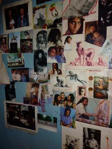 Inside Tafari's studio, Addis Abeba, 201
