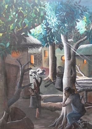 Idrissa Diarra, Le noctambule
