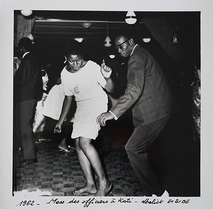 Malick Sidibé - Mess des officiers à Kati - 1962