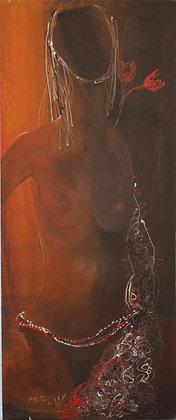 Seni Mbaye - Femme Nuit de Sine - 2003