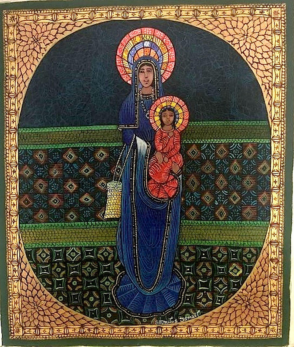Ismael Saincilus, Mother and child.