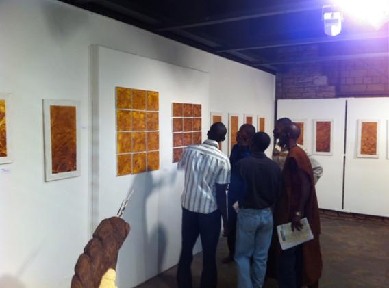 Exposition Thierno Diallo à l'IF Mali de