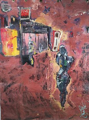 """Vincent M'Bandévé dit """"Dévé"""" - Untitled - 2000"""
