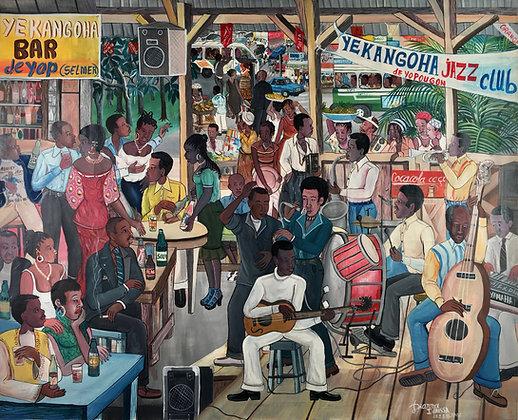 Idrissa Diarra, Yekangoha Jazz Club