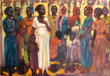 Tafari Teshome, Women group, 2014