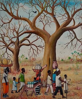 Siaka Coulibaly, sans titre, 2004