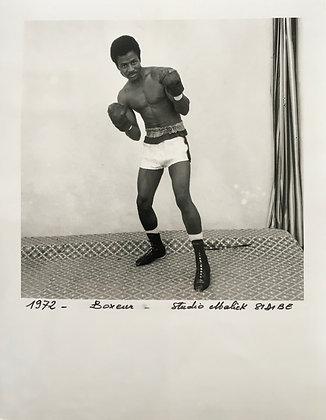 Malick Sidibé - Boxeur - 1972