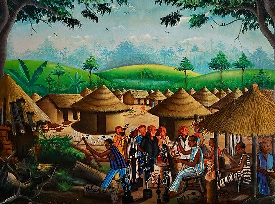 Mohamed Berete, Les Blancs au village, 2001