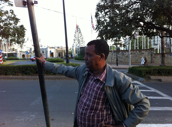 Tadesse à Addis Abeba