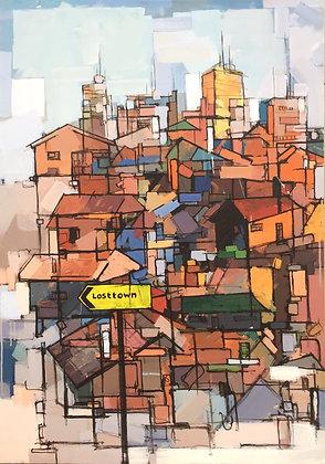 """Untitled 100X90 (2)""""Losttown"""""""