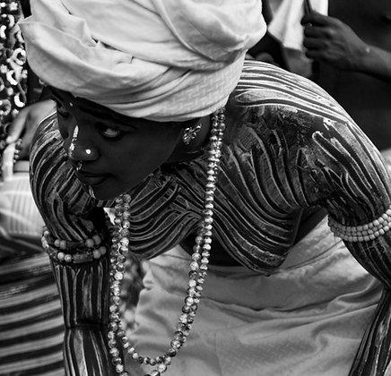 Denis Rion - sans titre n°15 (série Festival des Divinités Noires)- Togo, 2011