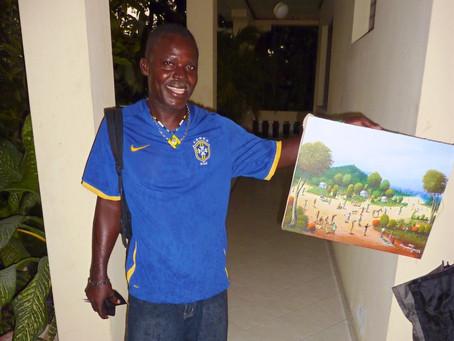 PORTRAIT: Raymond Joseph, peintre paysagiste-miniaturiste haïtien