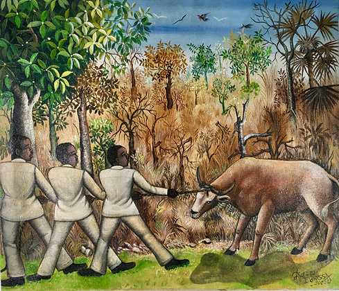 Idrissa Diarra, Les tireurs de vache