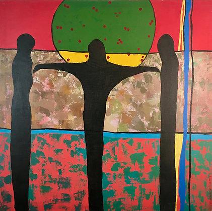 Merikokeb Berhanu - Untitled IX (2009)