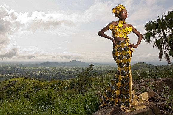Frédéric de la Chapelle - série Togo à la mode