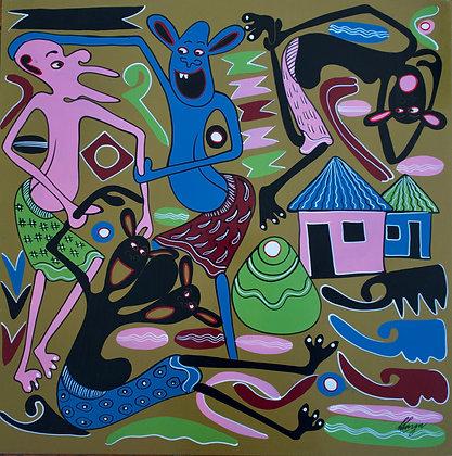 George Lilanga - Huyuni mgeniwako unaweza kunisikiliza- 1999
