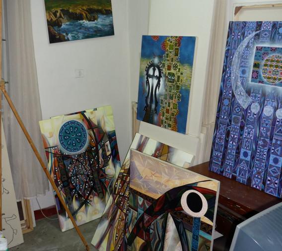 Robel Berhane's Studio, AA