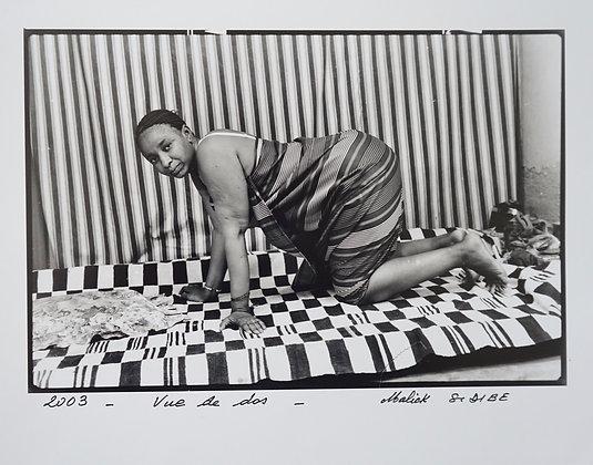 Malick Sidibé - Vue de dos(2)- 2003