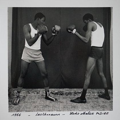 Malick Sidibé - Les deux boxeurs - 1966