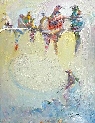 Tafari Teshome, Blue birds
