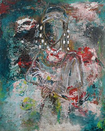 Seshie Kossi - Untitled (inspired by Mona Lisa)