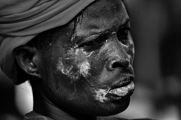 Denis Rion - sans titre n°39 (série Festival des Divinités Noires)- Togo, 2011