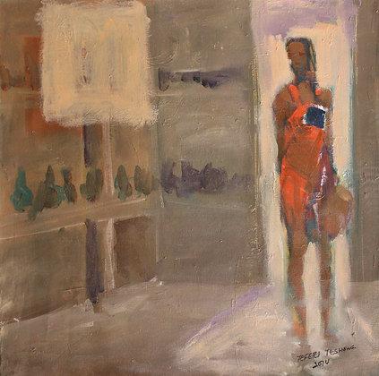 Tafari Teshome, Woman in the doorway
