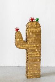"Florian Huber. ""Golden cactus""."