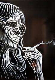 Katharina Arndt, #16 / canvas (Faye Dunaway on Mondays) SOLD