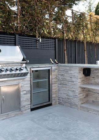 Custom Built Outdoor Kitchen