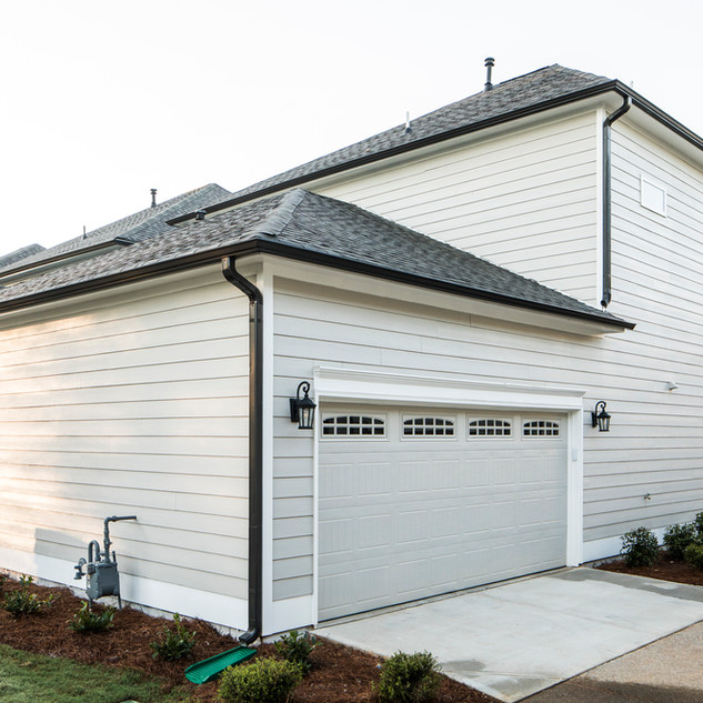 Rear entry Garage
