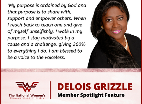 NWEM Member Spotlight Feature:  Delois Grizzle