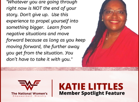 Member Spotlight Feature: Katie Littles