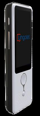 Lingolet Pro device for professional interpreting.