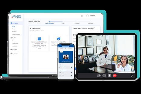 Get Video Remote Interpreting (VRI) with Lingolet Hybrid Platform.