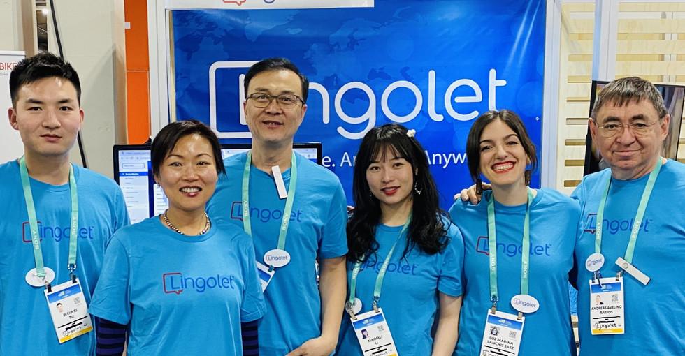 L'équipe Lingolet.