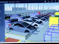 Ford gerencia sua nova linha de montagem virtual na montagem de seus carros