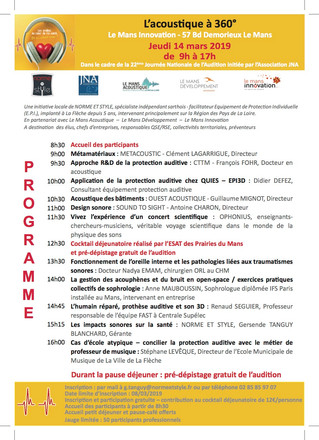 Journée Nationale de l'Audition : demandez le programme !